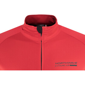 Northwave Extreme H2O Total Protection Shortsleeve Jacket Herrer, red